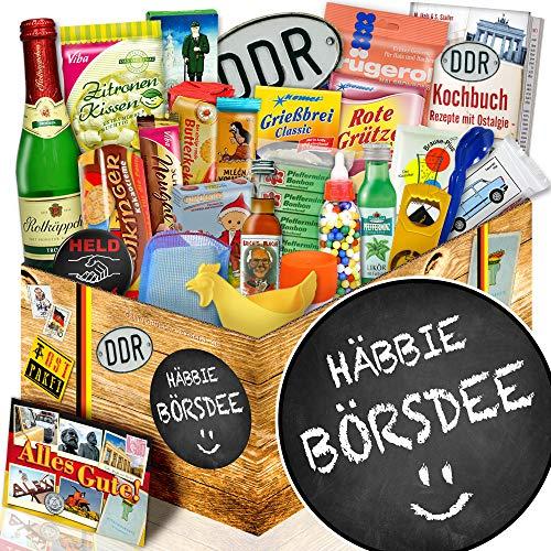 Häbbie Börsdee / 24 tlg. Geschenk Set DDR / Geschenke zum Geburtstag