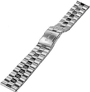 Timex Men's IQ+ Metropolitan 20mm Quick Release Stainless Steel Watch Bracelet