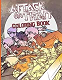 Attack On Titan Coloring Book: Nice Attack On Titan Adult Coloring Books. (8.5' X 11')