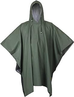 Rubberized Rainwear Poncho Olive Drab