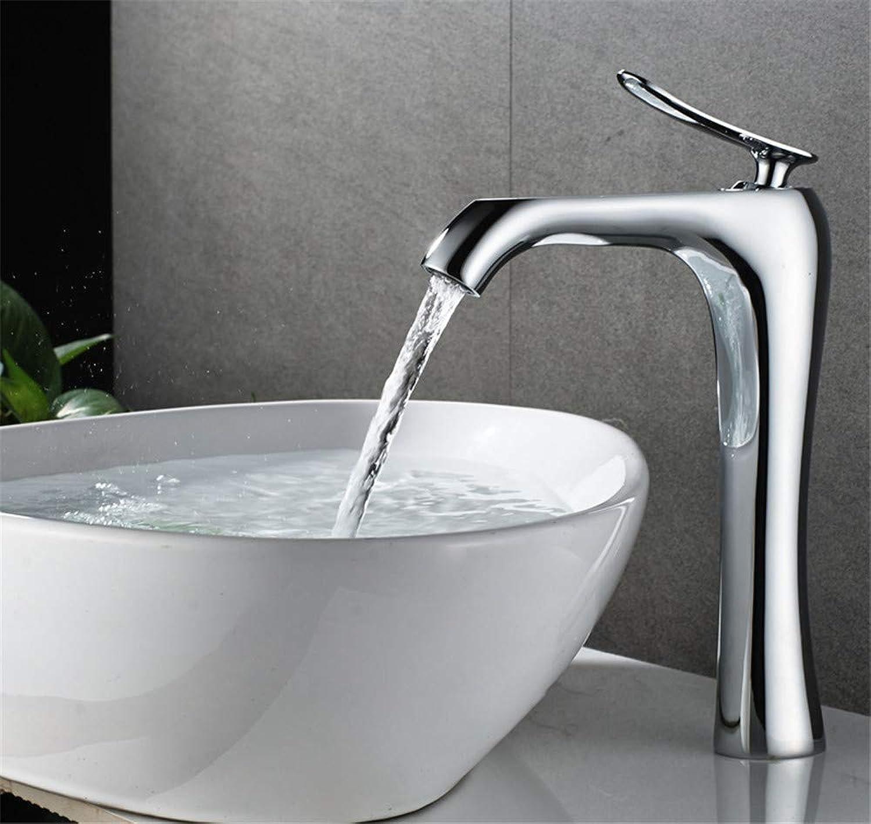 Oudan Full Copper Basin Mixer Artistic Creativity Leading to The Bathroom Basin Faucet A (color   B, Size   -)