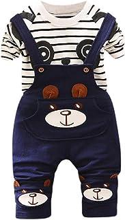 3d0d5a4534ca6 Oyedens Ensembles Shorts et Haut Garçon Naissance Mode Infantile enfant Bébé  Garçons T-Shirt Tops