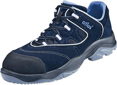 Atlas Chaussures Chaussures basses de sécurité ESD CF 4bleu, largeur 11, Taille 46  design simple et généreux
