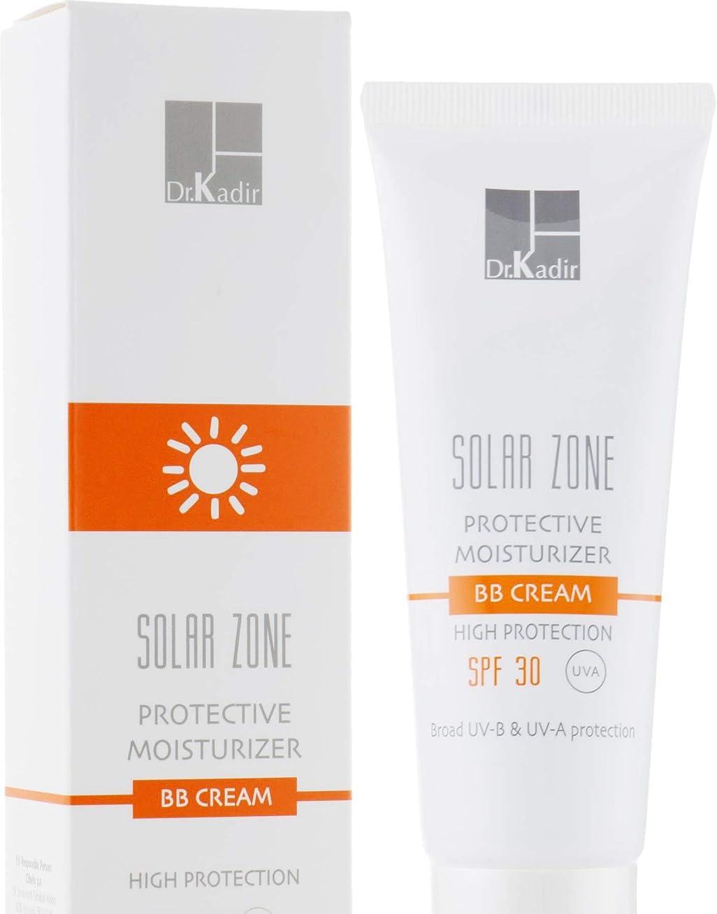 赤面ミュウミュウプーノDr. Kadir Solar Zone Protective Moisturizer BB Cream SPF 30 75ml