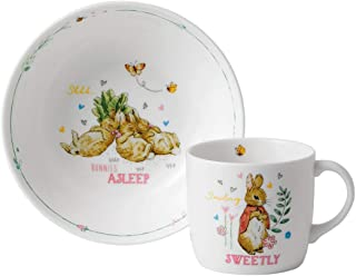 Wedgwood Peter Rabbit Refresh 2 Piece Nursery Set Pink