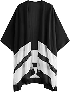 Best black and white kimono cardigan Reviews