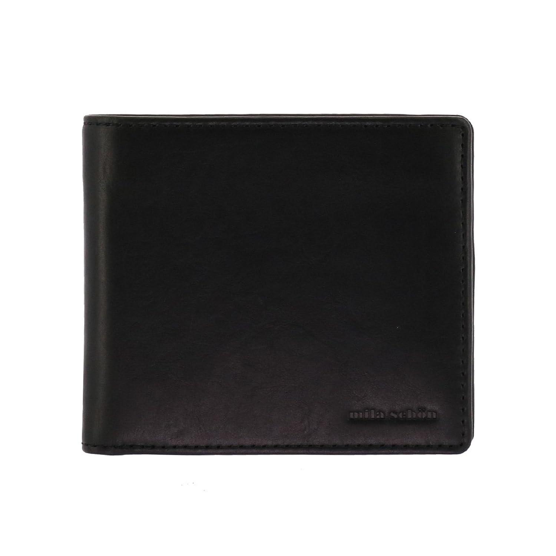 (ミラ?ショーン)MilaSchon ミラショーン 二つ折り財布 カーフレザー CALF LEATHER MSMW7JS1