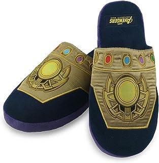 Groovy UK Thanos Infinity Gauntlet Marvel Slippers
