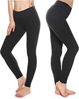 Buttery Soft Leggings for Women - High Waisted Leggings Pants with Pockets - Reg & Plus Size