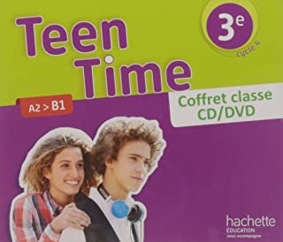 Teen Time Anglais Cycle 4 / 3e - Coffret CD/DVD Classe - ed. 2017