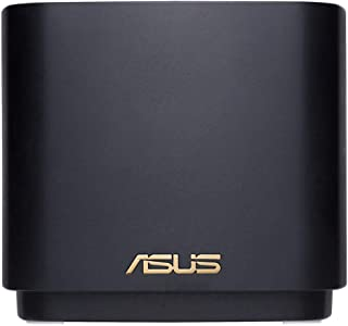 ASUS ZenWifi AX Mini (XD4) WiFi 6 AX1800 Netwerksysteem tot 446 m2, Eenvoudige Installatie, Beveiligingsfuncties en Kinder...