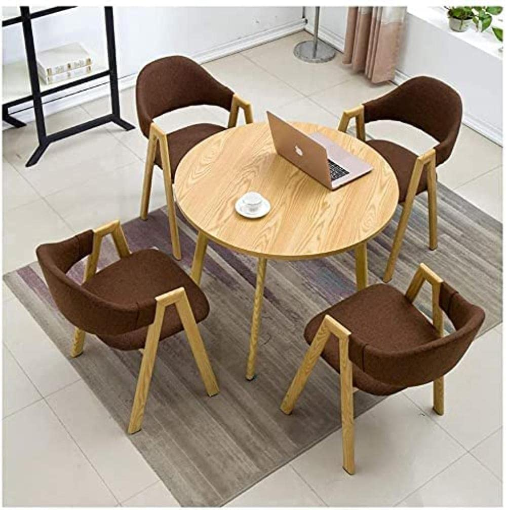 XKUN Dining Table Set Classic for Home Shops and Cheap Meeting Various Office