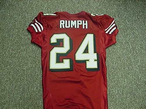 Mike Rumph San Francisco 49ers 2003 Game Worn Jersey