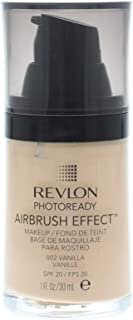 Revlon PhotoReady Airbrush Effect Foundation, 002 Vanilla