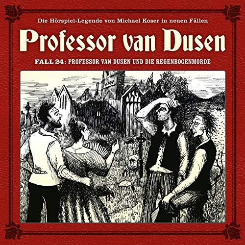 Professor van Dusen und die Regenbogenmorde Titelbild