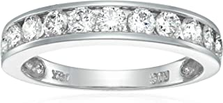 1 cttw Classic Diamond Wedding Band 14K White or Yellow Gold I1-I2 Channel Set