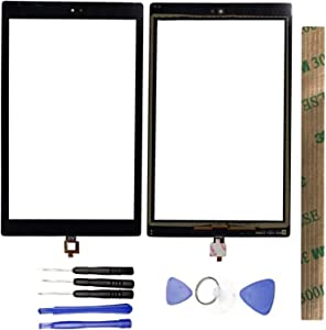JayTong Digitizer Touch Screen Outer Screen Glass Replacement with Free Tools for Amazon Fire HD 10 HD10 2019 9th M2V3R5 Black