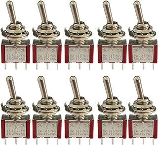 Tutoy 10 Tipos 250Vac Interruptor De L/ímite Ip65 Actuador Ajustable Brazo De Rodillo Varilla De Resorte Tope Interruptor De La Bobina #7