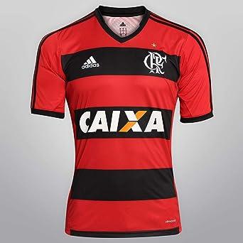 Camiseta Flamengo, hombre, color multicolor - negro /rojo ...