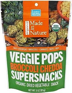 Made in Nature - Veggie Pops Supersnacks Broccoli Chedda - 3 oz.