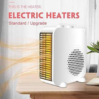 ZRB Mini Ventilador Calentadores De Ahorro De Energía Eléctrica Calentadores Tabla Cubierta Portátil Temperatura Muy Silencioso Calentadores con Control De Temperatura