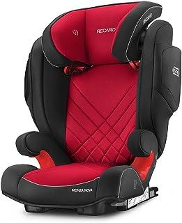 Recaro Monza Nova 2 Seatfix 6151.21509.66 Silla de Coche, Grupo 2/3, Rojo (Racing Red)