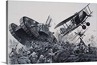 GREATBIGCANVAS Gallery-Wrapped Canvas Entitled 1918 by Graham Coton 48