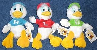 Disney Huey Dewey Louie Three Duck ERROR Lot Beanie BEAN BAG Plush Stuffed