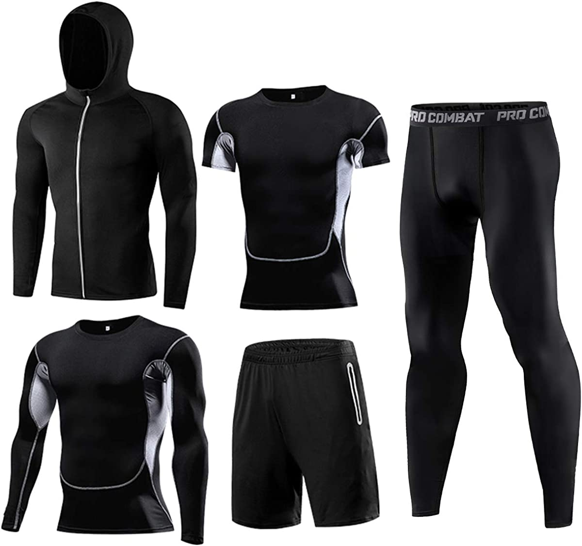 Brand Cheap Sale Venue WELLGEAR Men's Gym Running Fitness Me Kit Compression for Financial sales sale Shirts