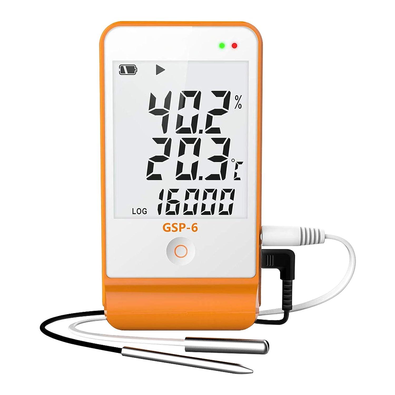 registrador de datos de temperatura-Therm GSP-6 Registrador ...