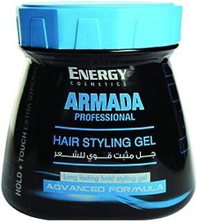 Energy Cosmetics Armada Hair Stylling Gel - Long Lasting Hold, 1000ml