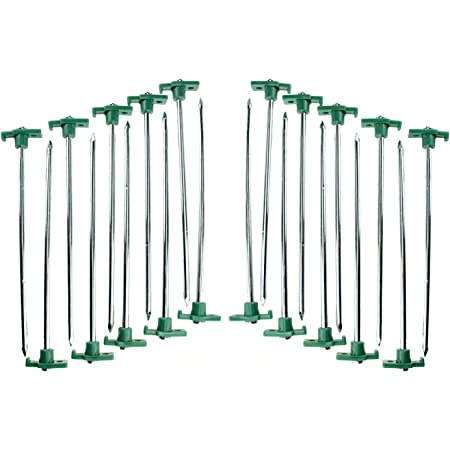 Sturdy Enough Apyapy Tent Stakes Outdoors Trip 8PCS Plastic Tent Stakes with ABS Material and Spiral Design 11 Easily Used Tent Stakes for Camping