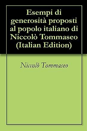 Esempi di generosità proposti al popolo italiano di Niccolò Tommaseo