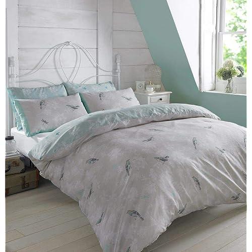 Blue And Grey Bedding Amazoncouk