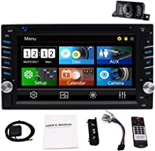 2 Din Car Stereo with Touch Screen Bluetooth Car Radio in Dash Headunit DVD CD Player Double Din Car Radio Receiver with G...