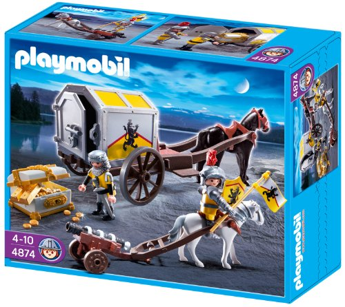 Playmobil 4874 - Goldtransport der Löwenritter