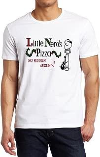 Home Alone Little Nero's Pizza Movie Fan Shirt Custom Made T-Shirt