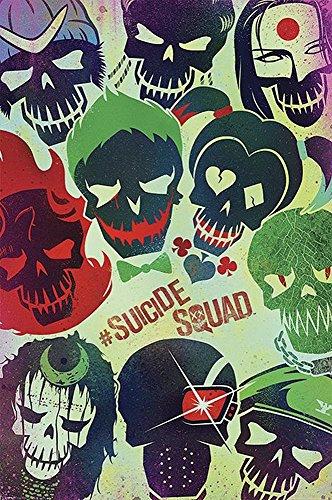 Suicide Squad Poster Faces (61cm x 91,5cm)