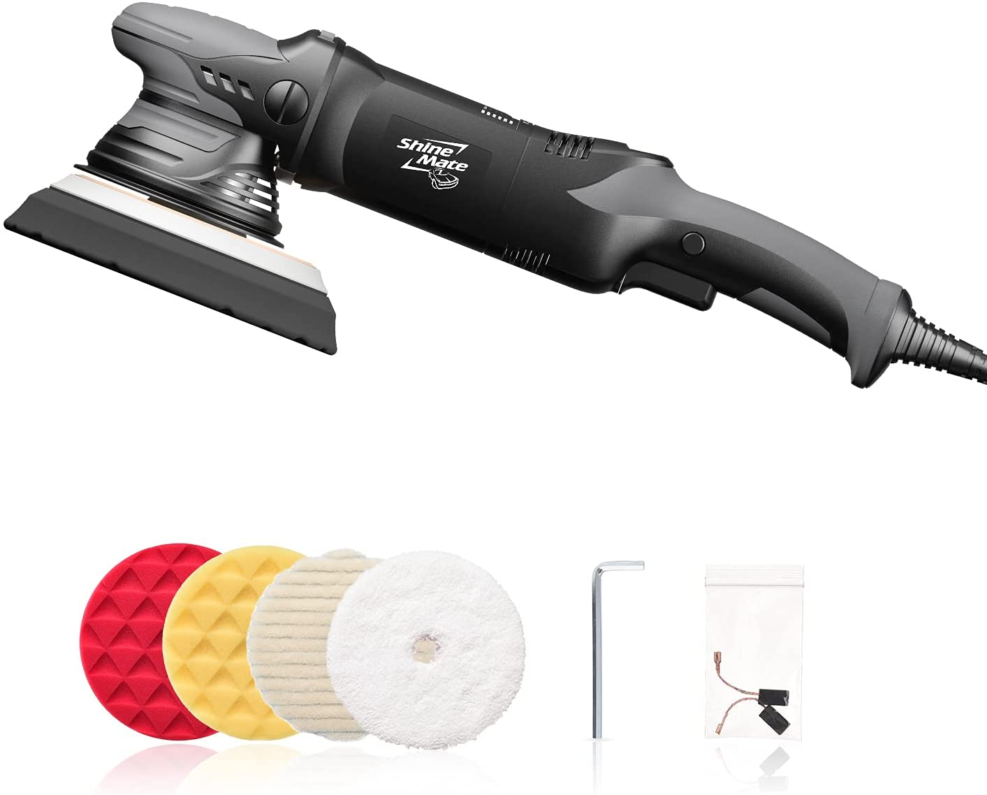 Colorado Springs Mall ShineMate Dual Action Polisher for 5 Detailing Corded Car Dallas Mall Inch