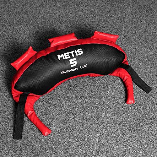 METIS Bulgarian Bag – 5kg bis 20kg   Crossfit Equipment und Krafttraining – Trainingsgerät für Fitnesscenter und Zuhause (10kg) - 7