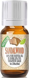 Sandalwood Essential Oil - 100% Pure Essential Oil (70% Jojoba / 30% Sandalwood) - 10ml