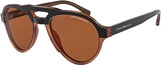 Kính mắt cao cấp nam – EA4128 574273 Black/Tort EA4128 Pilot Sunglasses Lens Category