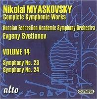 Myaskovsky: Complete Symphonic Works, Vol. 14 - Symphony No. 23 / Symphony No. 24 (2008-10-14)