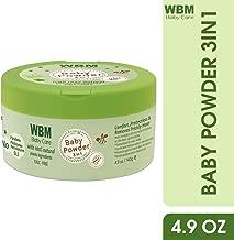 WBM Care 3 in 1 Baby Powder   Skin Reparing, Nourishing & Dry   Natural Dusting Powder   4.9 oz