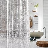ToHa DuschvorhangPlastik PVC Kopfstein Transluzenz Liner für Duschvorhang,Wasserdicht & Mouldproof für Bad,180cmx200cm