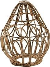 Blesiya Rotan Hanglamp Lampenkap Vintage Stijl Lantaarn Plafondlamp Hanglamp voor Restaurant Tearoom Slaapkamer Woonkamer ...