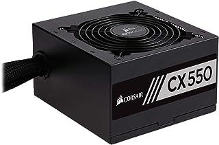 Corsair CX550M Unidad de - Fuente de alimentación (550 W, 100-240 V, 47-63 Hz, 85%, 5-10 A, 120 W)