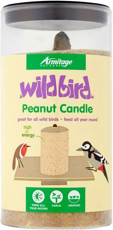 Armitage Wild Bird Peanut Candle (480g)  Pack of 6
