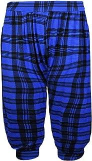 Janisramone Womens Ladies New Animal Printed 3/4 Hareem Alibaba Baggy Oversized Trouser Short Leggings Pants