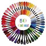 Adkwse Garn aus weicher Baumwolle, 50 Farben